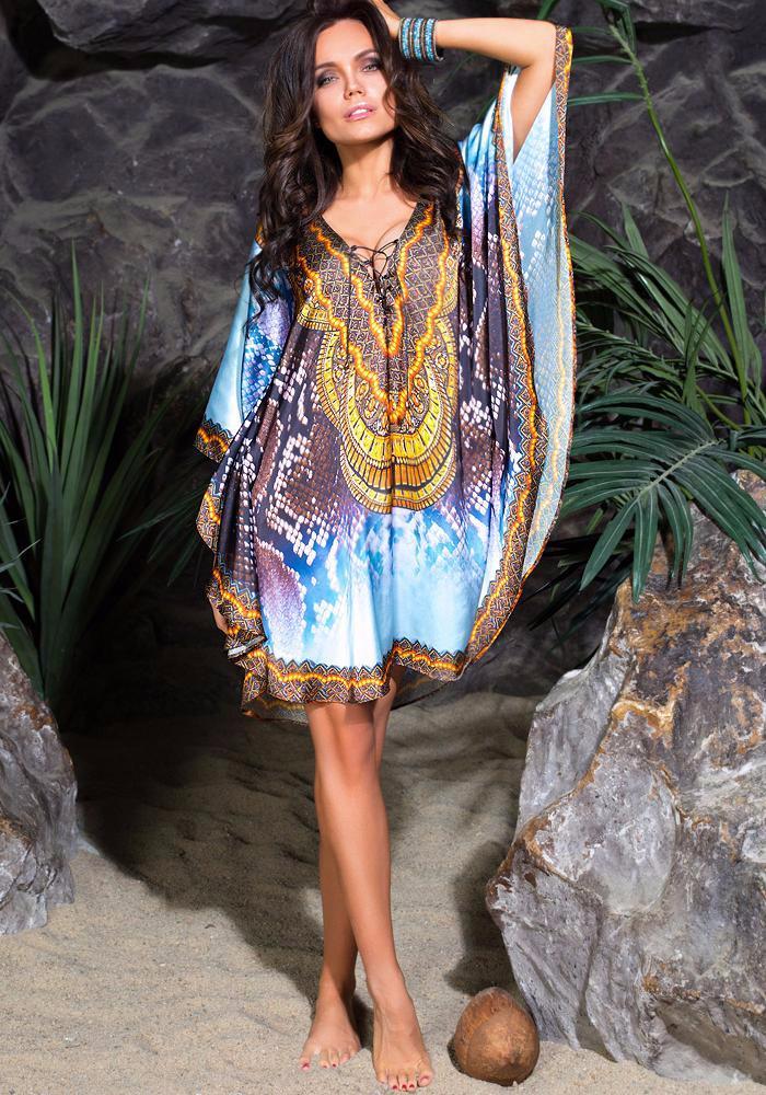 серия модные пляжные платья фото она просто достаточно